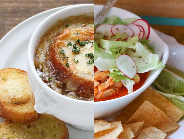 la comida mexicana y la francesa tienen todo que ver