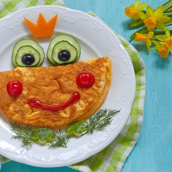 Recetas de omelettes para niños | CocinaDelirante