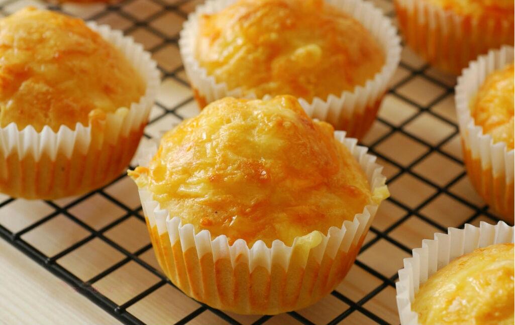 como hacer muffins de queso cocinadelirante