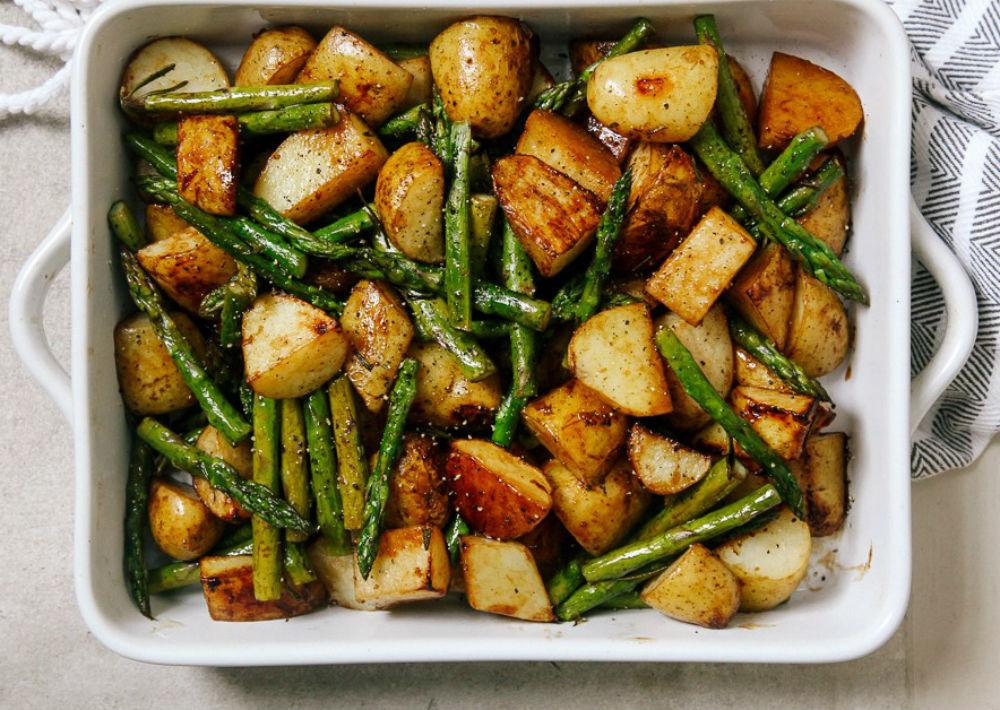 Recetas de papas al horno con esparragos cocinadelirante - Comidas con esparragos ...