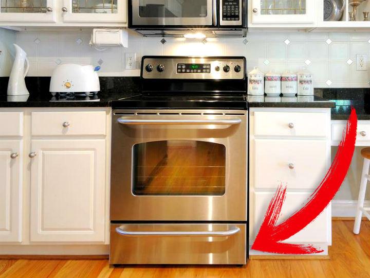 Para que sirve el cajon de abajo del horno cocinadelirante for Comida sin estufa