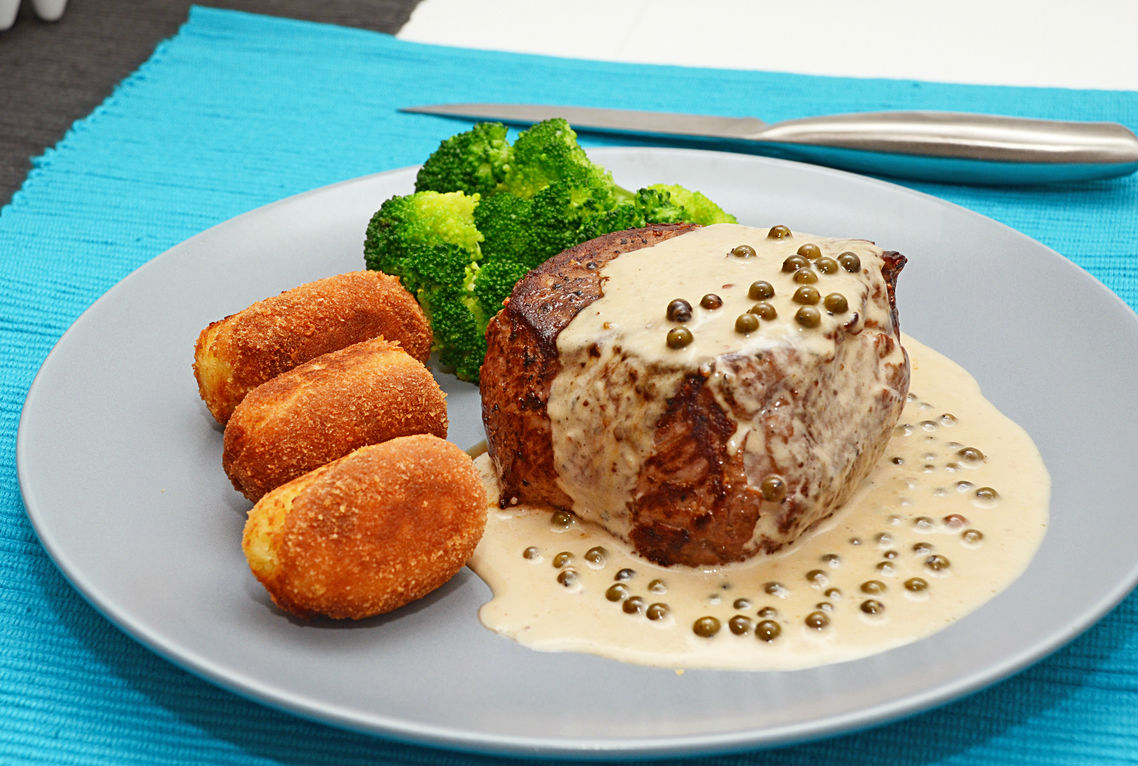 Carne en salsa de pimienta cocinadelirante - Guarniciones para carne en salsa ...