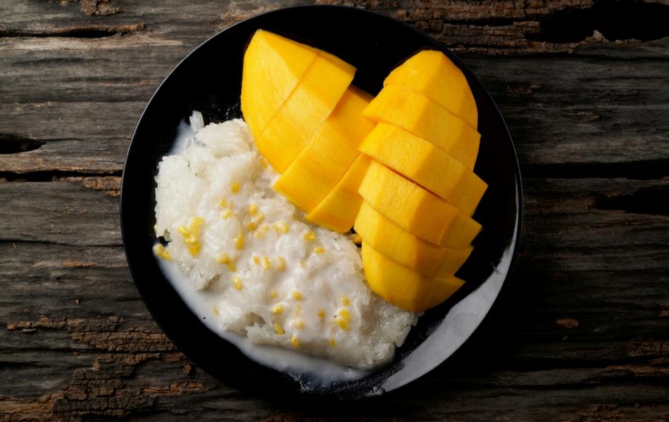 Arroz con leche y mango cocinadelirante for Cocinar 2 tazas de arroz