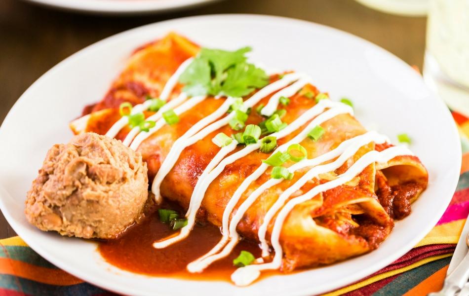 salsa roja para enchiladas cocinadelirante