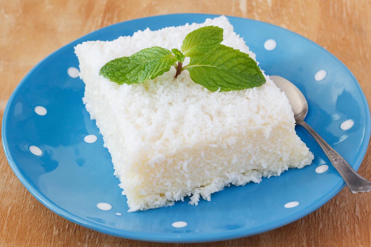 Postre de pi a colada con queso crema cocinadelirante - Postres con queso de untar ...
