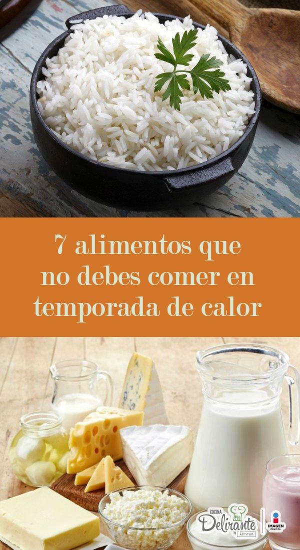 6 alimentos que por nada del mundo debes comer en temporada de calor - Alimentos que no debe comer un diabetico ...