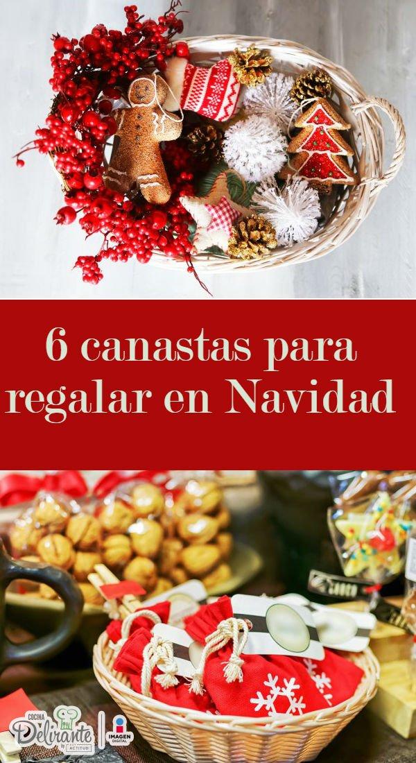 Cómo hacer canastas de navidad   CocinaDelirante