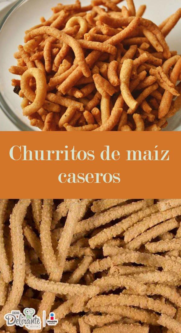 Como hacer churritos de ma z cocinadelirante for Como cocinar mazorcas de maiz