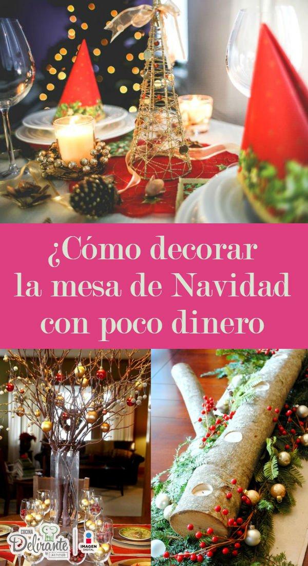 Adornar mesa de navidad beautiful decorar mesa navidad - Adornar la mesa para navidad ...