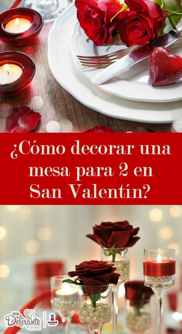 Mesas romanticas para o dia dos namorados cocinadelirante for Decorar mesa san valentin