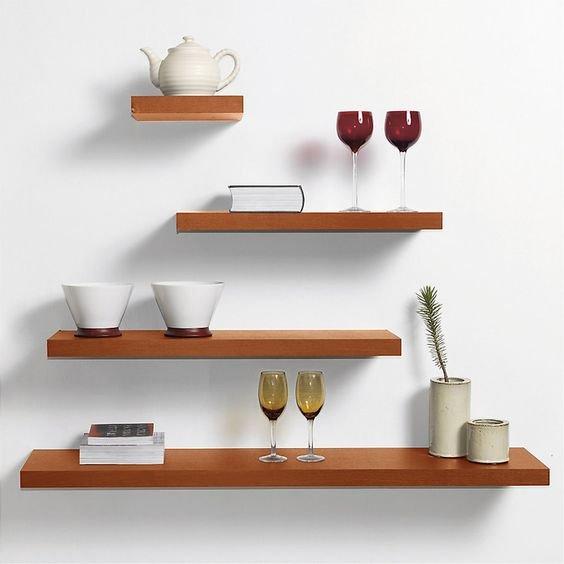 5 formas creativas para decorar tu cocina con repisas for Muebles de cocina homecenter