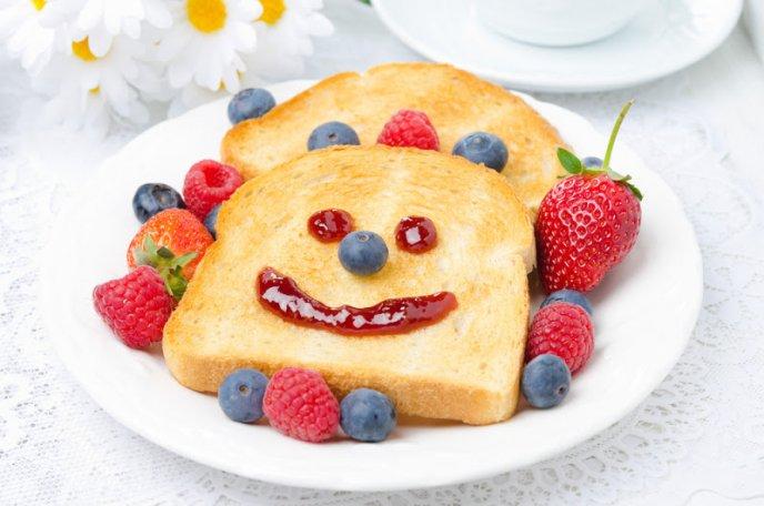 desayunos divertidos para nios