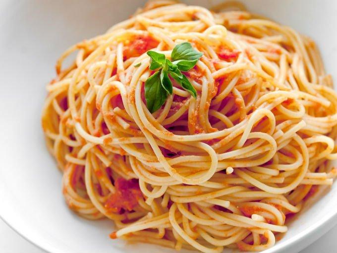 recetas de spaghetti