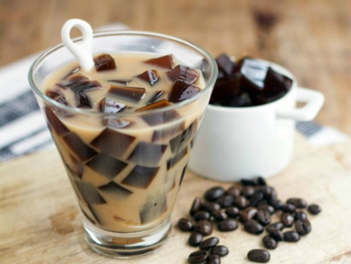 postre de cafe