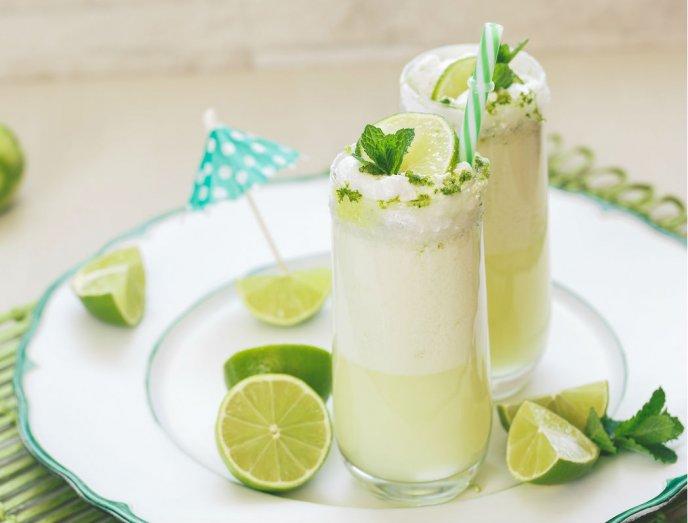 Limonada Brasileña con leche condensada