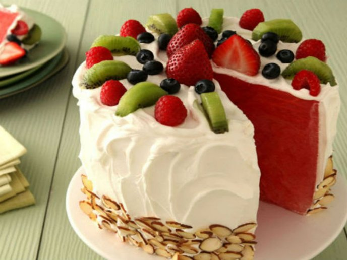 How To Cake It Watermelon