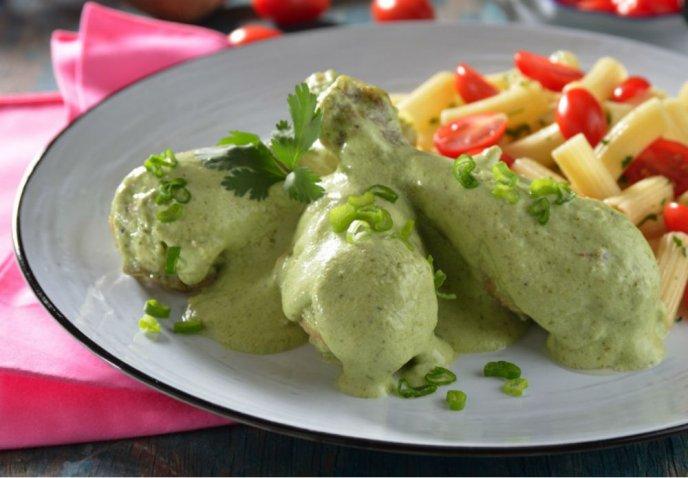 receta de pollo en salsa de cilantro cocinadelirante