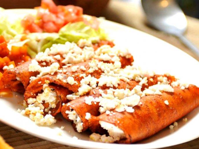 Prueba Estas Riqu 237 Simas Enchiladas De Rajas Con Pollo En