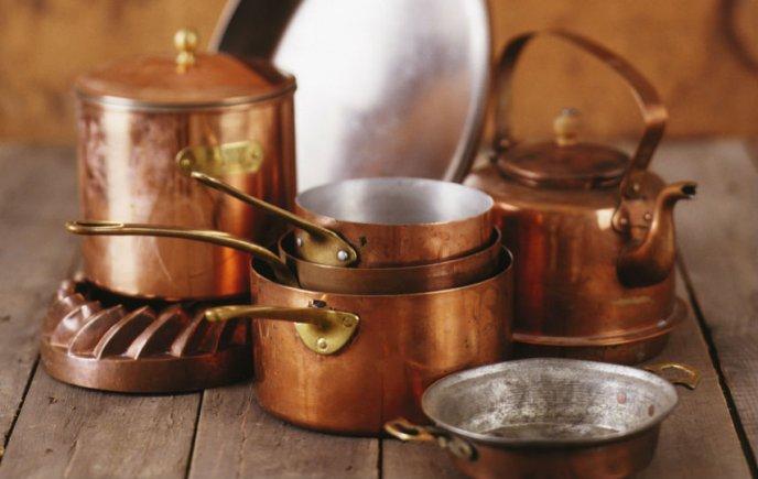 Como curar ollas de cobre cocinadelirante - Cazuelas de cobre ...