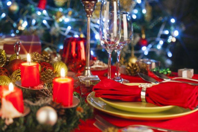 7 asombrosas idea para decorar tu mesa navidea - Navidades Asombrosas