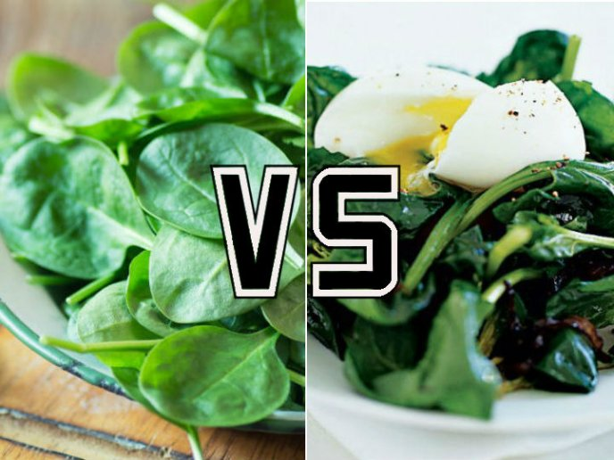 Verduras crudas o cocidas, ¿cuáles son más saludables?