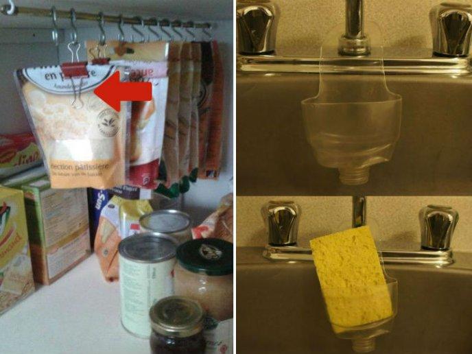 7 ideas para organizar tu cocina con materiales reciclados for Ideas para disenar tu cocina