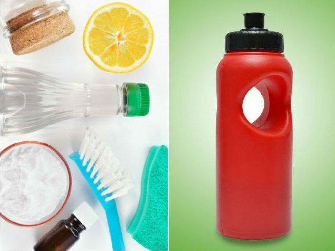 esta es la forma ms fcil de lavar tus botellas de plstico - Botellas Plastico