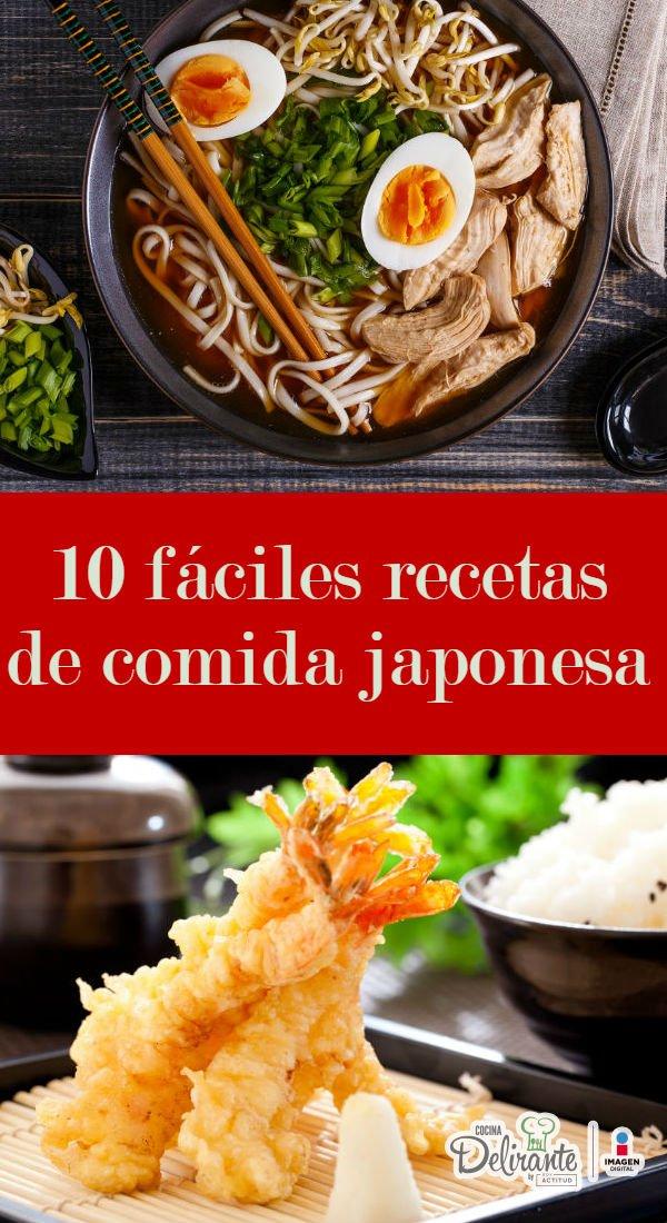 recetas japonesas faciles y economicas cocinadelirante