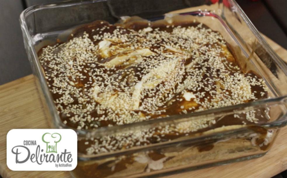 Como Hacer Pastel Azteca De Mole Cocinadelirante
