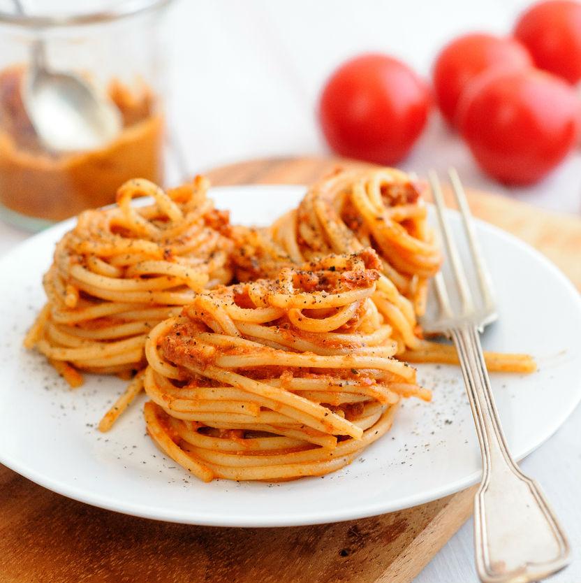 Image Result For Receta Espaguetis Con Carne Molida De Pollo