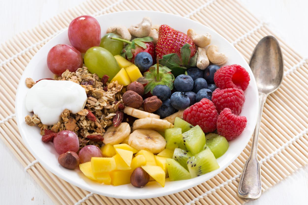 Snacks De Frutas Y Verduras Cocinadelirante