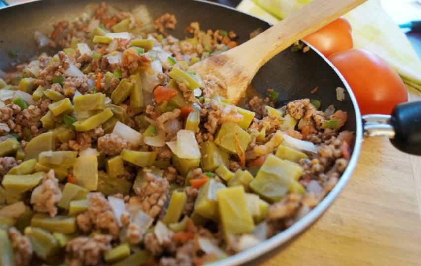 Carne molida a la mexicana cocinadelirante for Comidas rapidas caseras