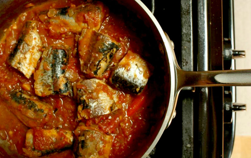 Cocinar Sardinas | Sardinas A La Mexicana Cocinadelirante