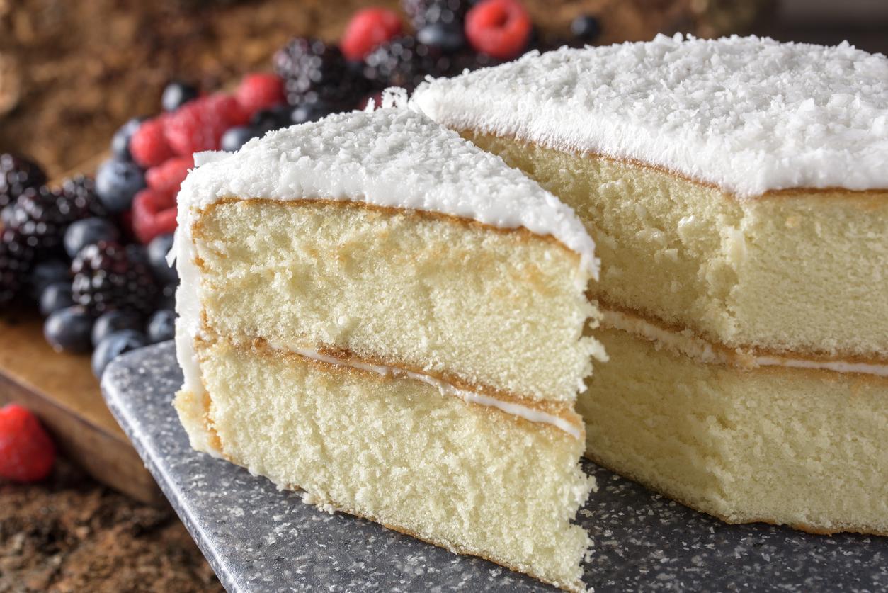 Receta de pan para pastel casero