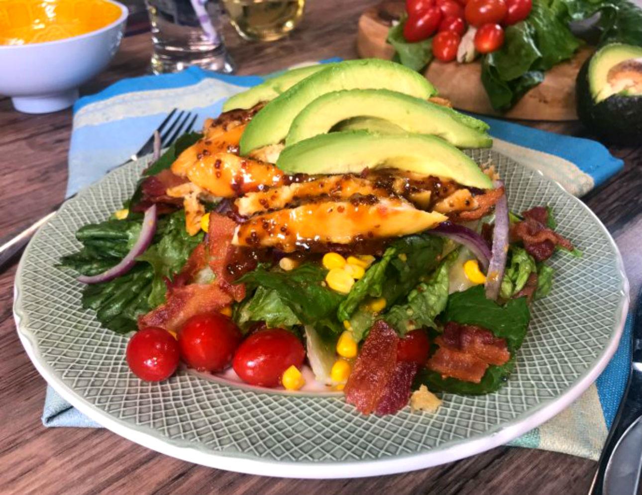 comida saludable con pollo sin grasa