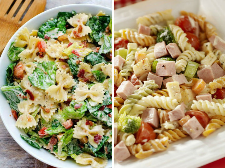 8 recetas f ciles y muy r pidas de pastas fr as for Cenas rapidas y economicas