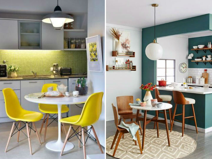 Dise os de comedores peque os y modernos for Como decorar un departamento moderno