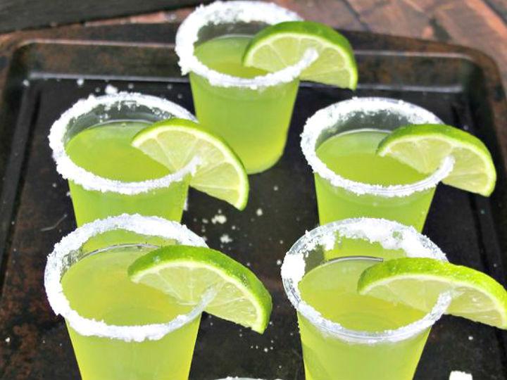 Receta jello shots tequila