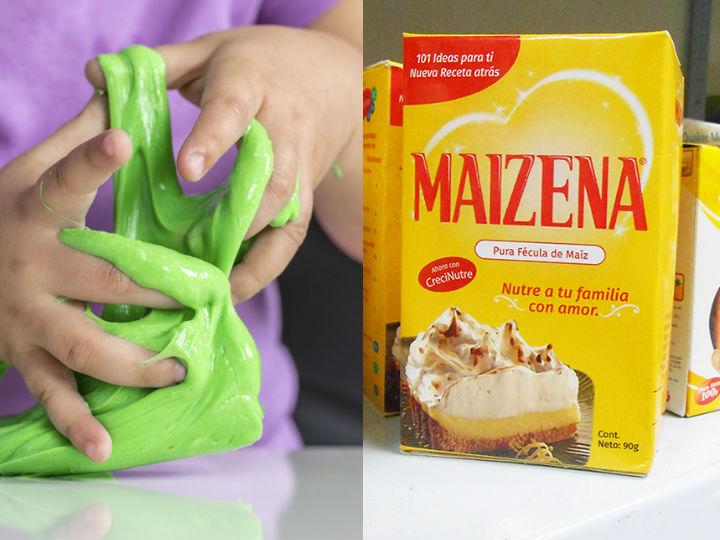 Como Hacer Slime Con Maizena