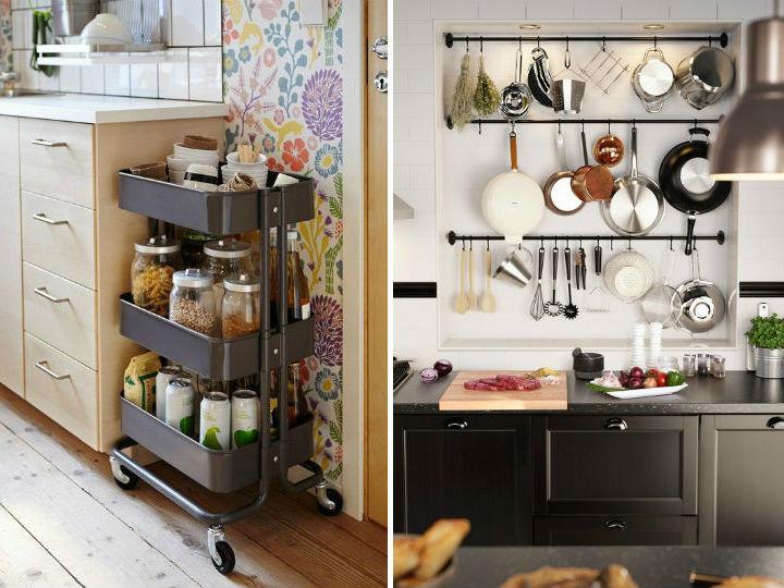 Como organizar los trastes de la cocina for Trastes de cocina