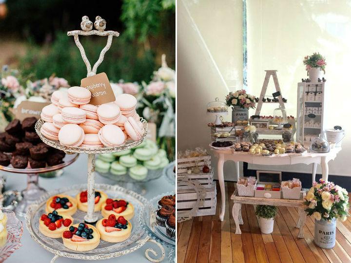 Mesas de dulces para bodas sencillas - Bodas sencillas y romanticas ...