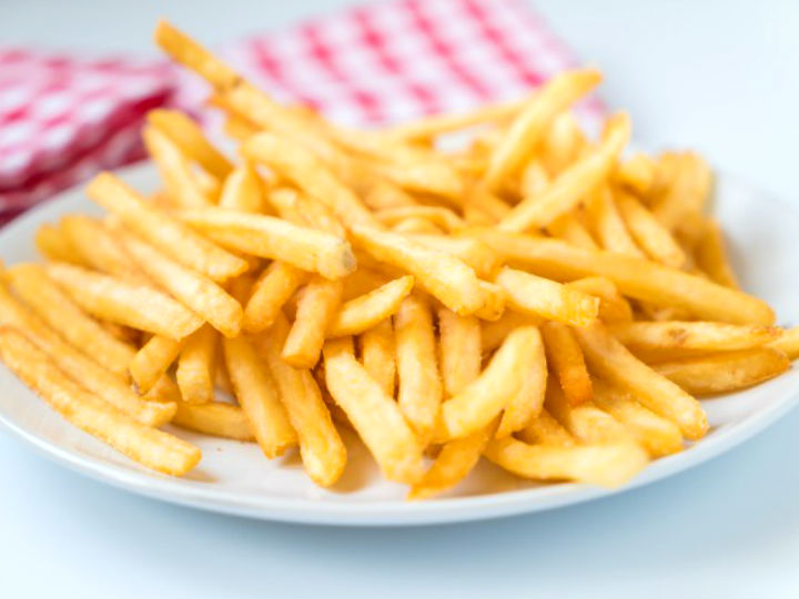 las papas fritas bajas en calorias