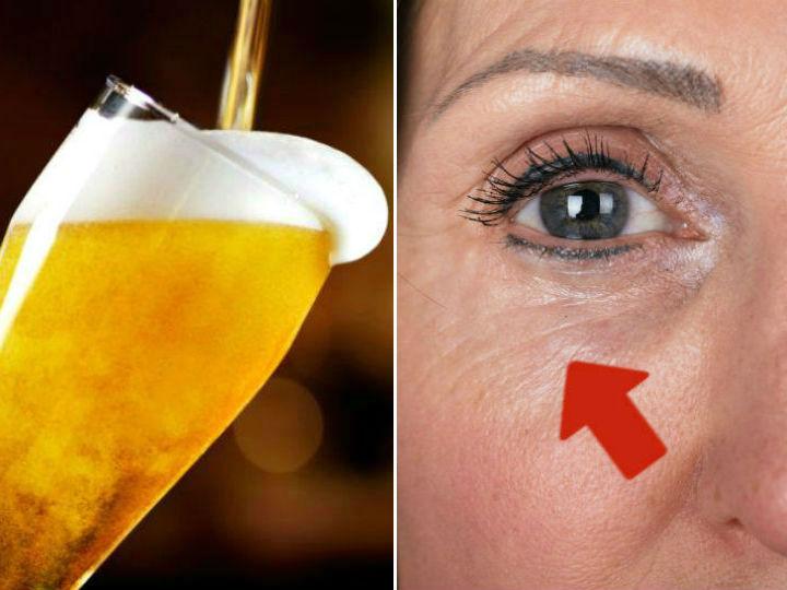 la cerveza es mejor que las cremas antiarrugas