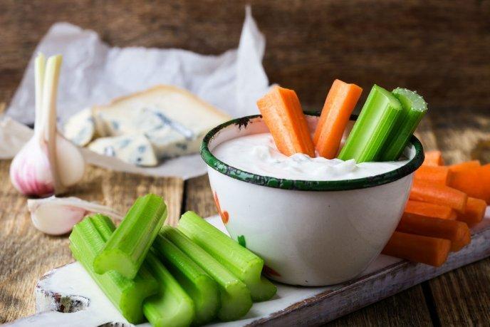 aderezo de queso azul para ensaladas