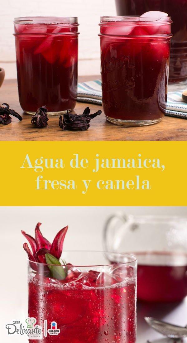 Y jamaica canela que el te para sirve de