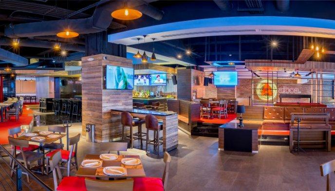 bares con pantallas gigantes para ver el mundial