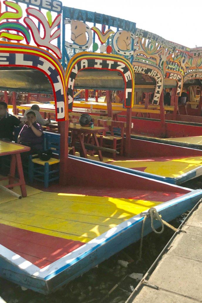 bebidas y comida tradicionales de Xochimilco