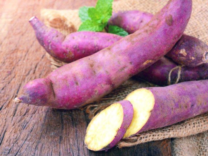 Propiedades nutricionales del camote amarillo