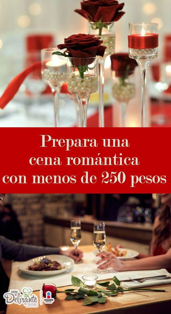 Cena romantica cocinadelirante - Cena romantica a casa ...