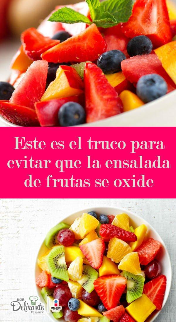 Ensaladas de frutas y verduras para navidad
